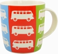 VW BUS T1 BULLI TASSE - POP ART - VOLKSWAGEN