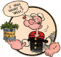 I Yam What I Yam! Popeye the Sailor Man